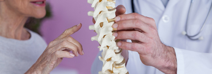 chiropractic clinic discusses herniated discs