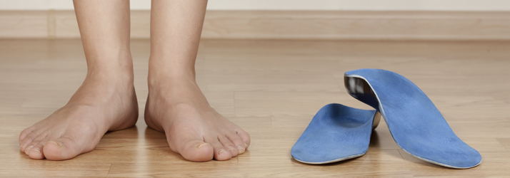 custom orthotics for foot pain