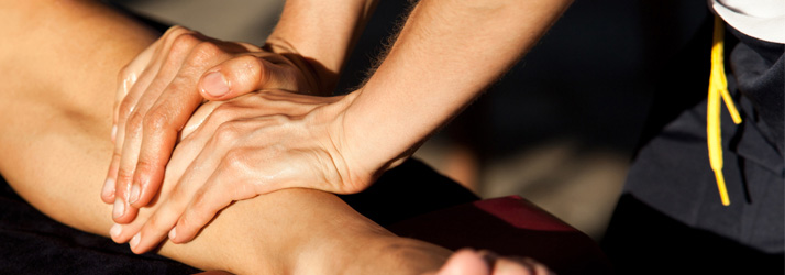 sports massage for faster sports injury rehabilitation